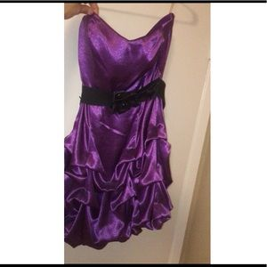 Dresses - Purple dress